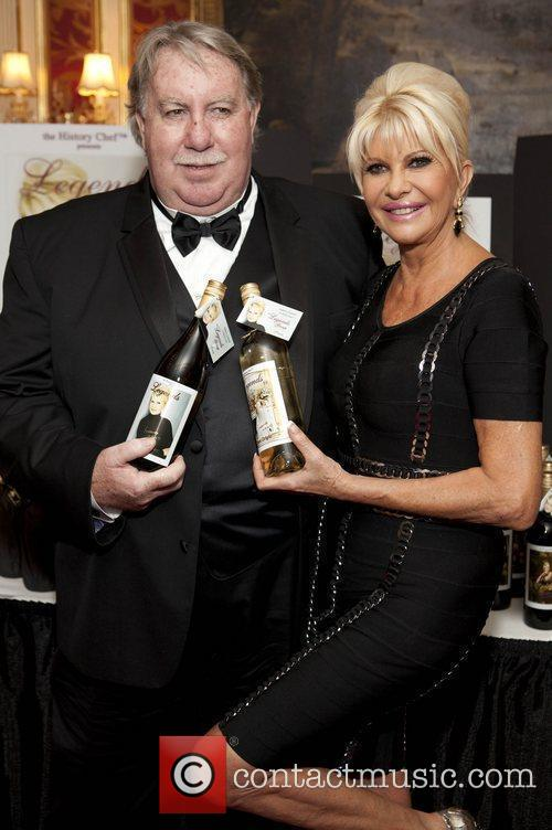 Andrew Caldwell and Ivana Trump Ivana Living Legend...