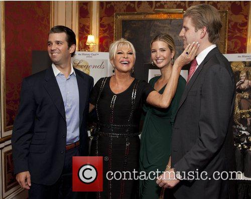 Donald Trump Jr, Eric Trump, Ivana Trump and Ivanka Trump 1