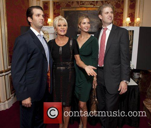 Donald Trump Jr, Eric Trump, Ivana Trump and Ivanka Trump 6