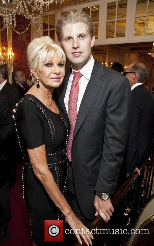Ivana Trump and Eric Trump Ivana Living Legend...