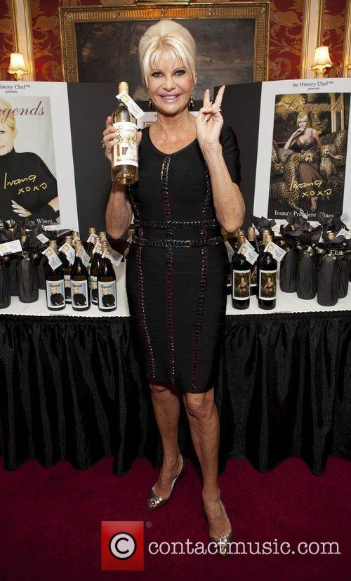 Ivana Trump Ivana Living Legend Wine Collection launch...