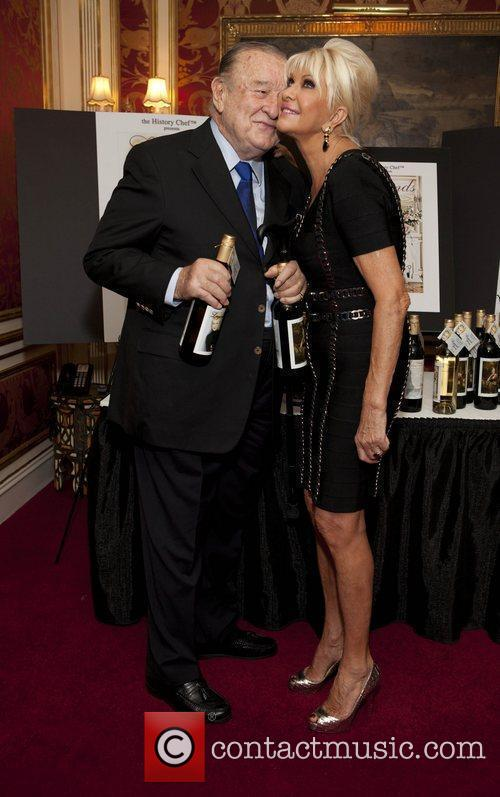 Sirio Maccioni and Ivana Trump