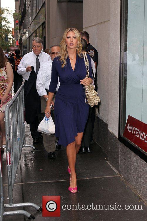 Ivanka Trump at NBC studios to appear on...