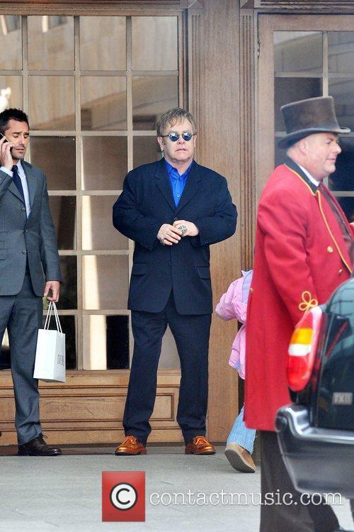 Elton John The 2011 Ivor Novello Awards at...