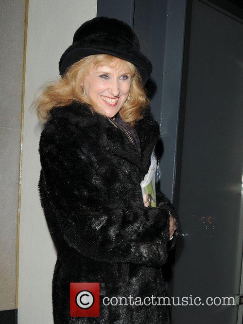 Anita Dobson,  at the Ivy club. London,...