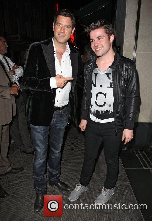 Carlos Marin of Il Divo and Joe McElderry,...