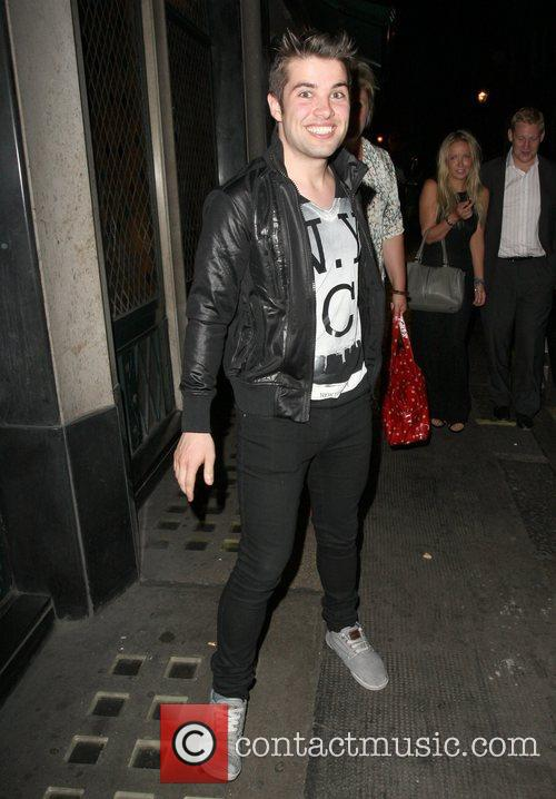 Leaving the Ivy Club in good spirits. McElderry...