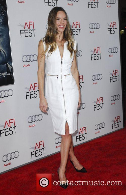 Hilary Swank and Grauman's Chinese Theatre 2