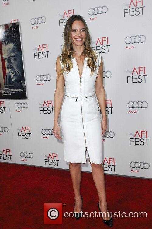 Hilary Swank and Grauman's Chinese Theatre 3