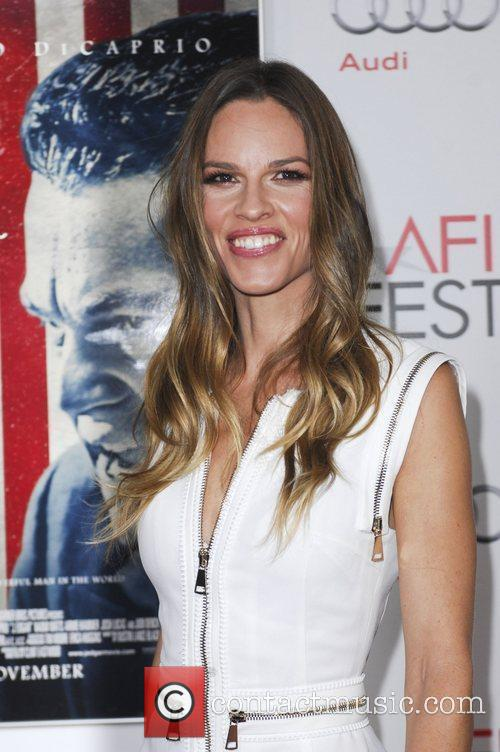 Hilary Swank and Grauman's Chinese Theatre 1