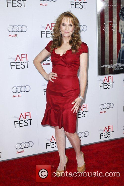 Lea Thompson and Grauman's Chinese Theatre 1
