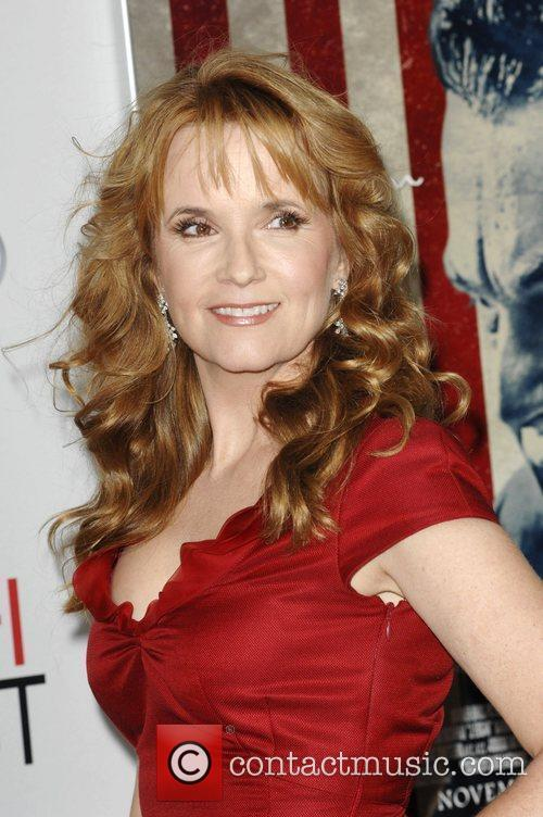 Lea Thompson and Grauman's Chinese Theatre 2