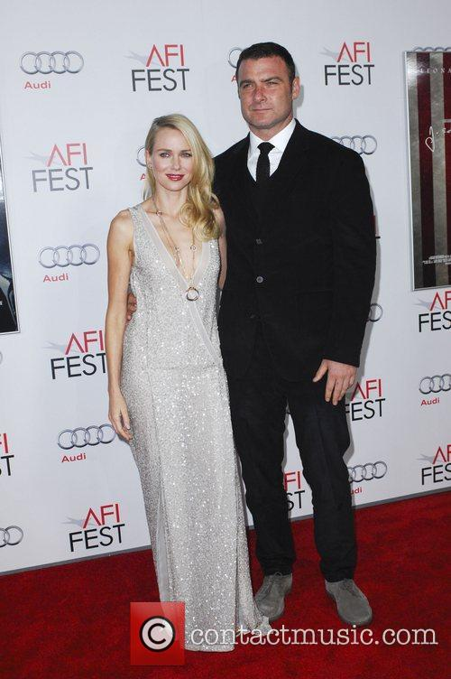 Naomi Watts, Liev Schreiber and Grauman's Chinese Theatre 5