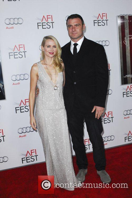 Naomi Watts, Liev Schreiber and Grauman's Chinese Theatre 6