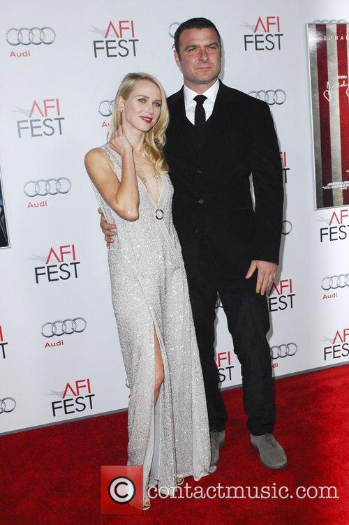 Naomi Watts, Liev Schreiber and Grauman's Chinese Theatre 9