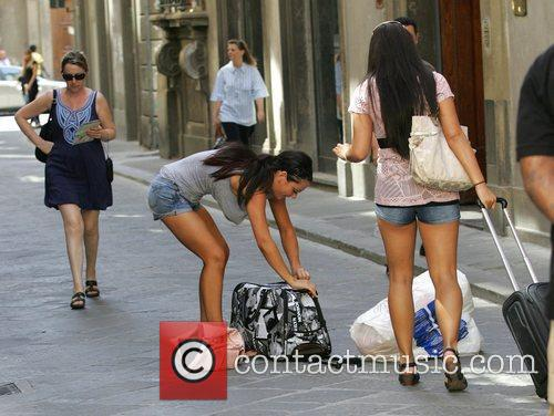 Jenni 'J Woww' Farley is seen doing her...