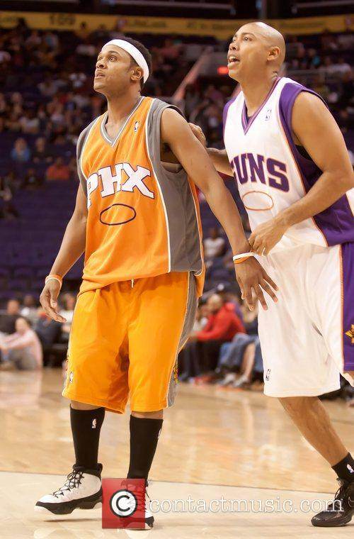 Pooch Hall and WNBA Coach Corey Gaines 10th...