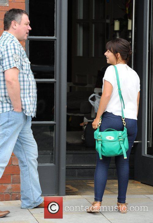 Lauren Shippey leaving Great John Street Hotel in...