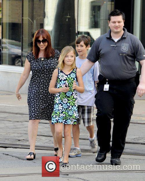 Along with her mother Lisa Evancho and brother...