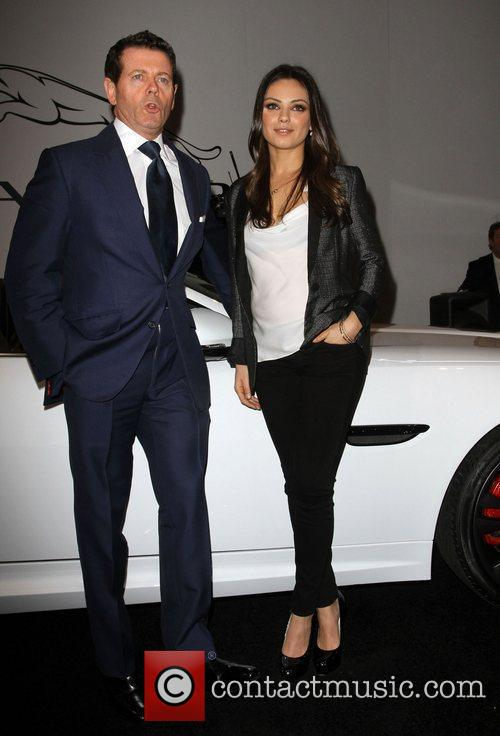 Mila Kunis and Guest Jaguar Land Rover Preview...
