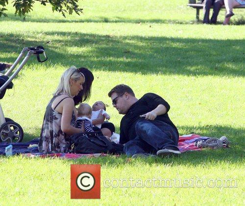 Enjoying the sunshine at a park in Primrose...