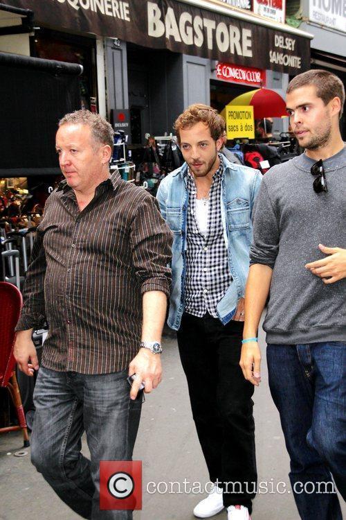James Morrison departs the 'Comedie Club' Paris, France