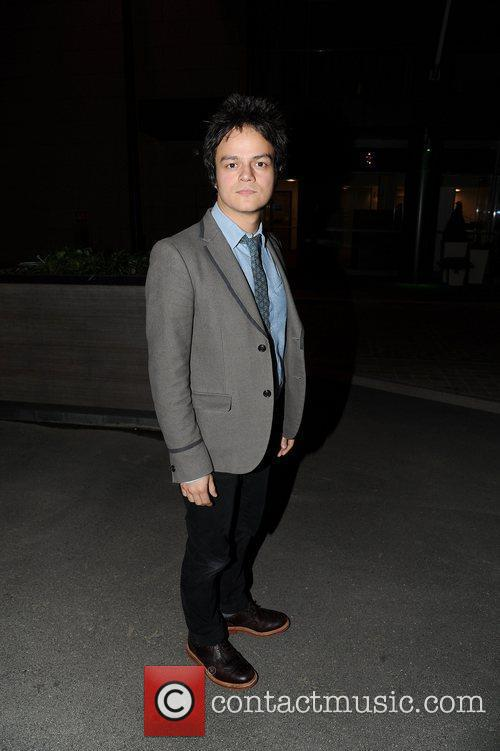 Jamie Cullum outside BBC Media City
