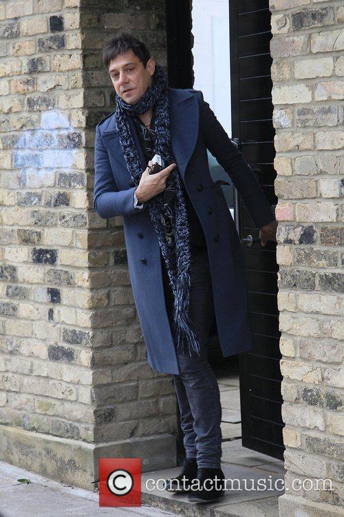Jamie Hince leaving his house London, England
