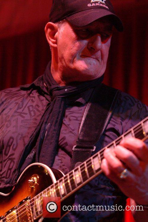 Former Focus guitar player Jan Akkerman performs live...