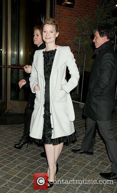 Mia Wasikowska 'Jane Eyre' Screening at the Tribeca...
