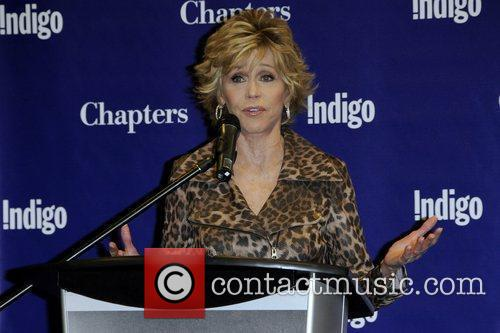Jane Fonda  promoting her latest book, 'Prime...
