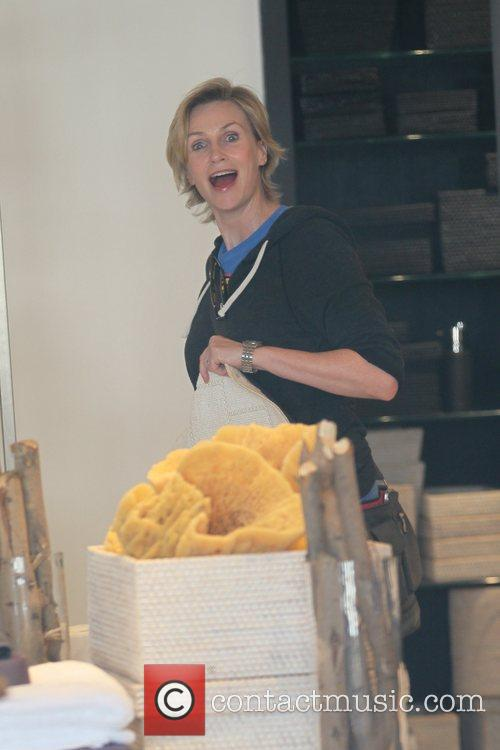 jane lynch is seen out shopping for 5748790