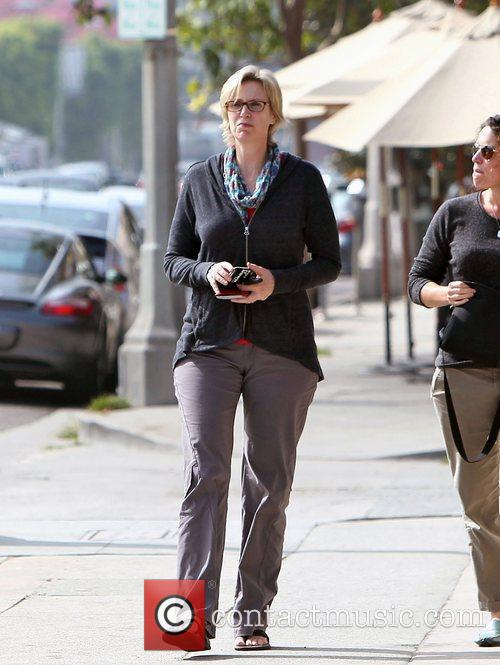 Glee and Jane Lynch 5