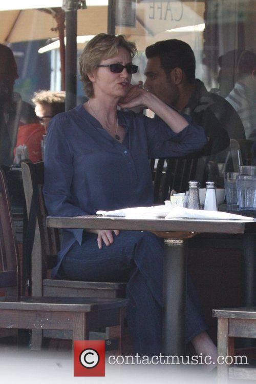 'Glee' star having breakfast in West Hollywood