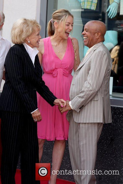 Sharon Stone and Berry Gordy 4