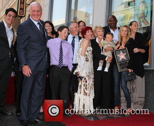 Singer Jane Morgan receives a star on the...