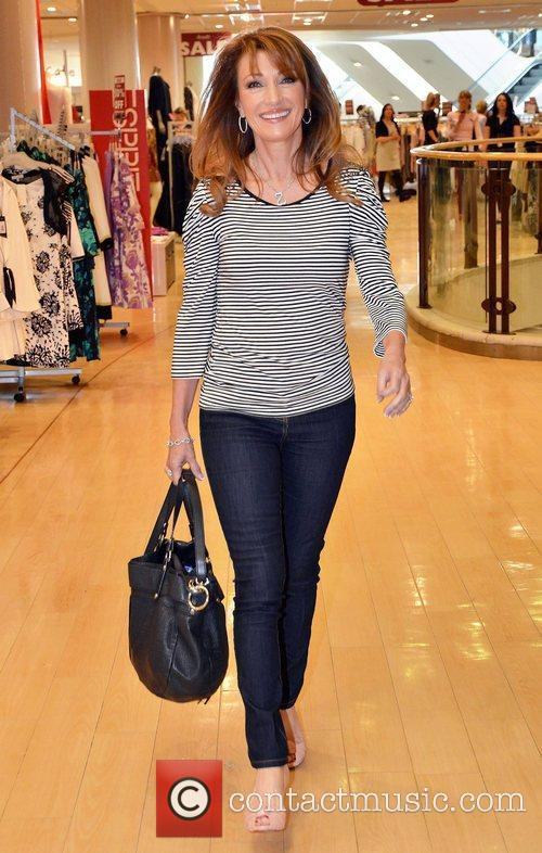 Unveils the Country Casuals collection at Arnotts. She...