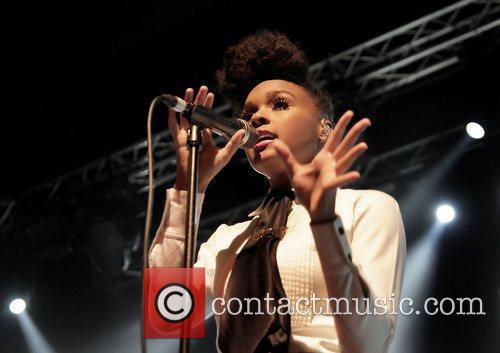 Janelle Monae performing at the Manchester Academy. Manchester,...