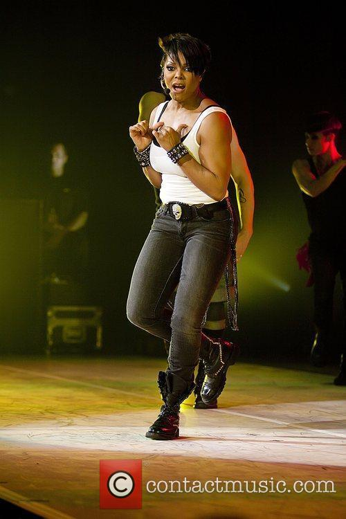 Janet Jackson  performing live on her 'Number...