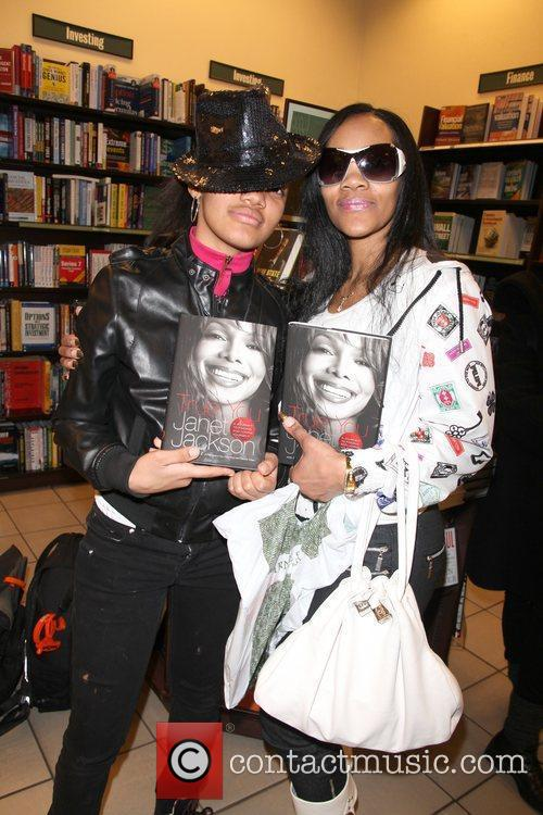 Janet Jackson attends her book signing for 'True...