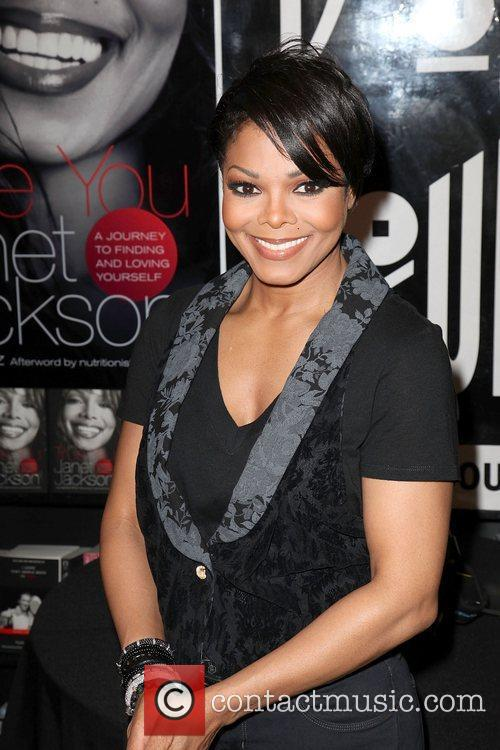 Janet Jackson Janet Jackson attends the book signing...