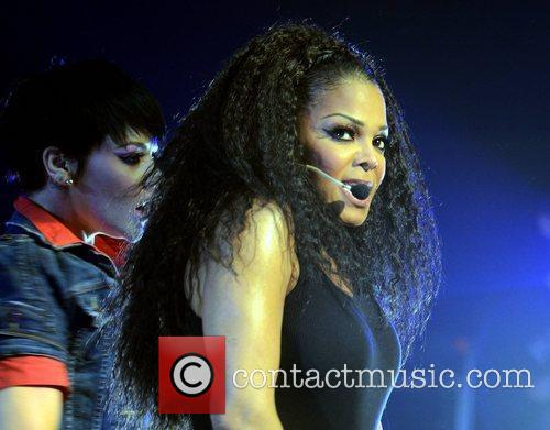 Janet Jackson performs at The Grand Canal Theatre...