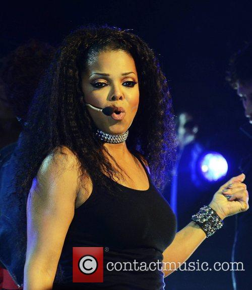 Janet Jackson performs at The Grand Canal Theatre