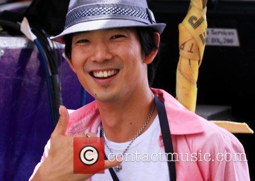 Jake Shimabukuro performing at 'Kokua For Japan' fundraiser...
