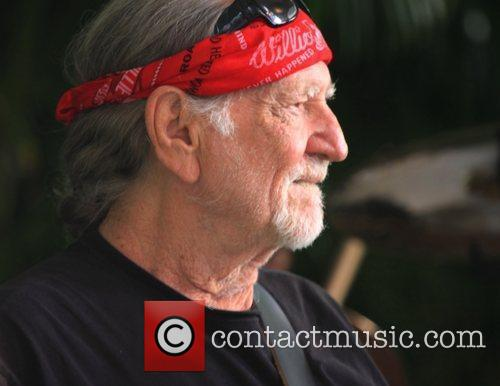 Willie Nelson  performing at 'Kokua For Japan'...