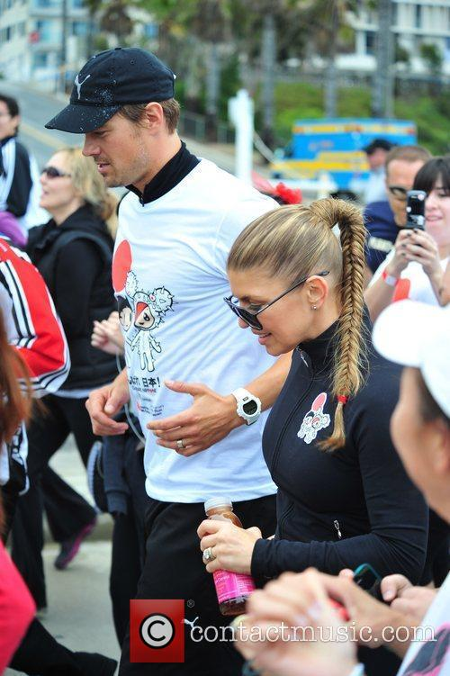 Fergie aka Stacy Ferguson and Josh Duhamel Celebrities...