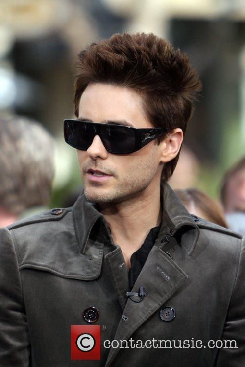 The band 30 Seconds to Mars films an...