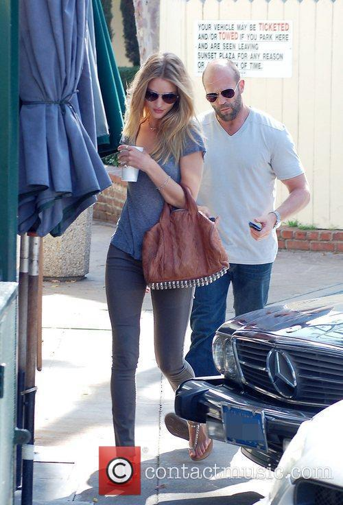 Jason Statham and Rosie Huntington-whiteley 1