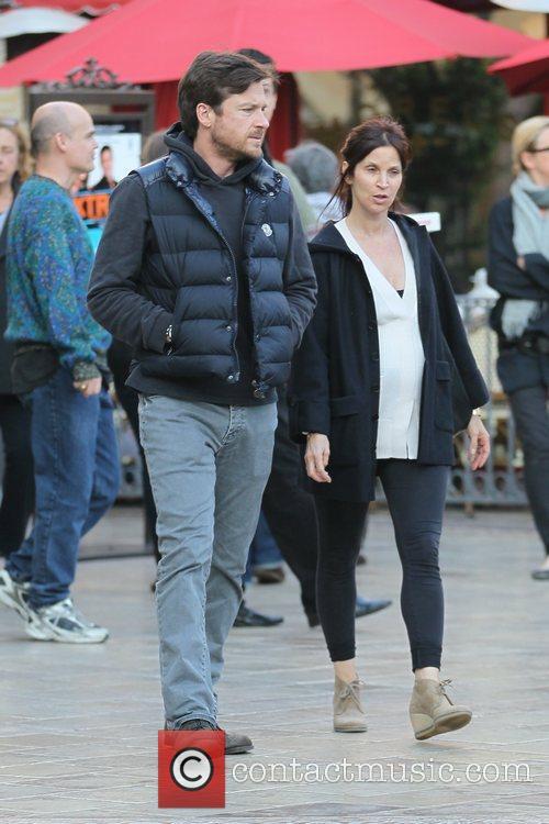 Jason Bateman and Amanda Anka Jason Bateman shopping...