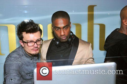 Simon Webbe at Jason Derulo's launch party of...